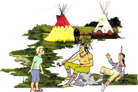 1 Indianer neu
