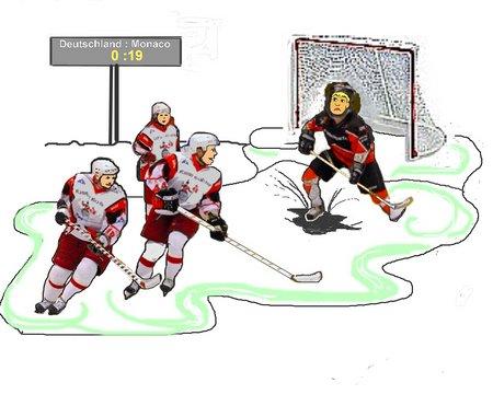 37 Eishockey mit Schnörkel