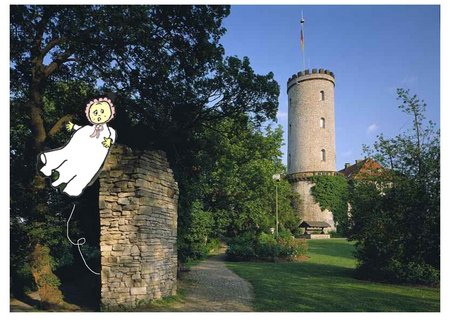 Sparrenburg mit Baby