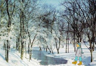 7 Weihnacht Winter
