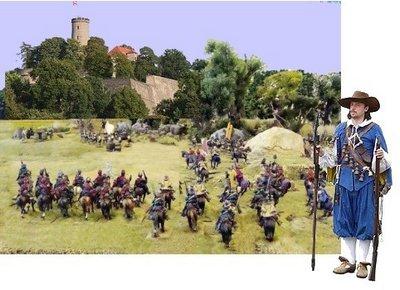 Schwedenschanze Belagerung