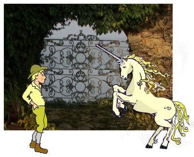 6 Einhorn mit Schwanz und Luumpi