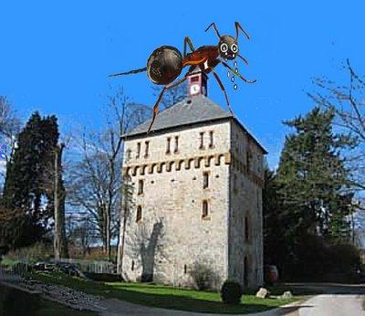 Barkhausen Turm mit Ameise