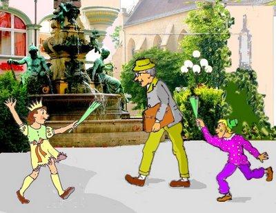 karneval Monumentelbrunnen