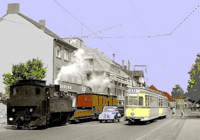 Johannisstift Verkehr bunt