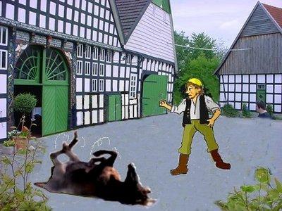 gelbe Kappe Hof