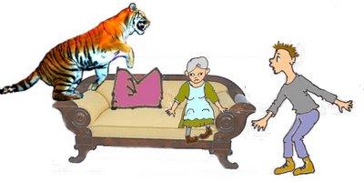 Sofa mit Karl
