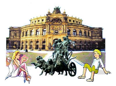 19 Semperoper mit Quadriga