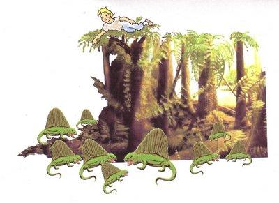 21 grüne Tierchen