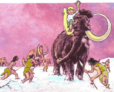 21 Lumpi auf Mammut