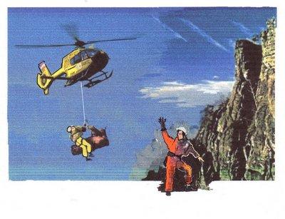 14 Rettunghubschrauber