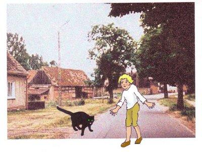 Grusellumpr 8 Katze