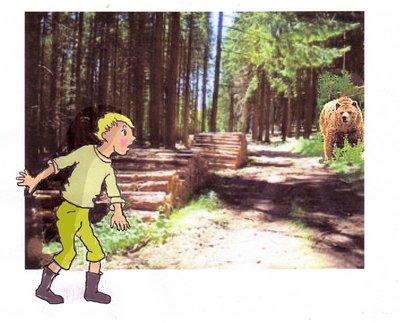 Lumpi Dorf Holz gut