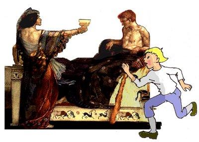 28 Medea mit Lumpi