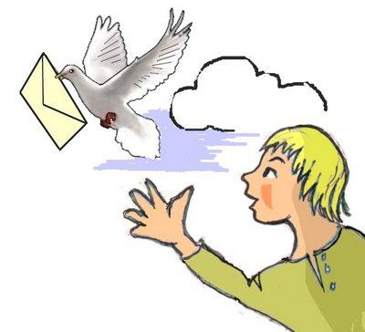 Taube fliegt