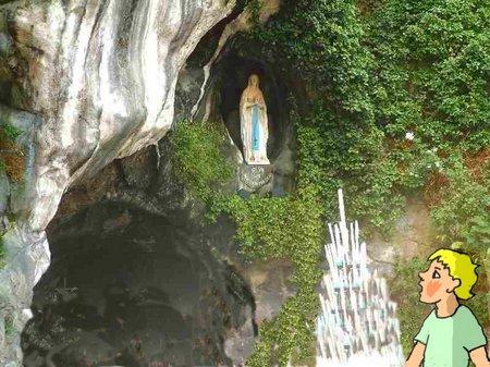33 Lourdes Grotte