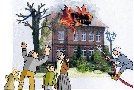 Feueranst Schule brennt 2