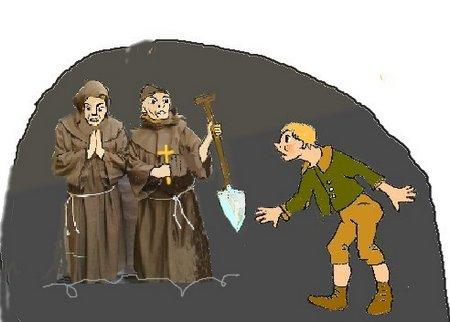 Franziskaner bunt mt Jungen