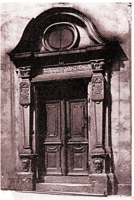 Tür Oberstraße