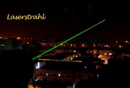 Flambambel-laserstrahl