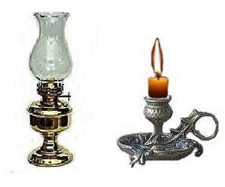 Flambambel Petroleum und Kerze