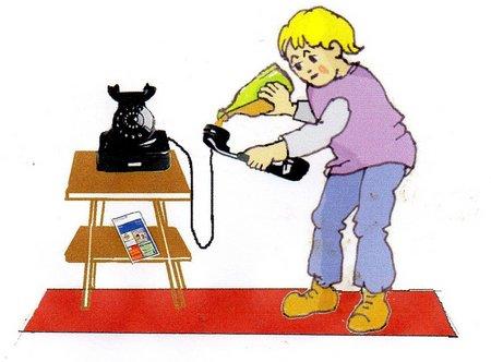 Telefon mit Dabda