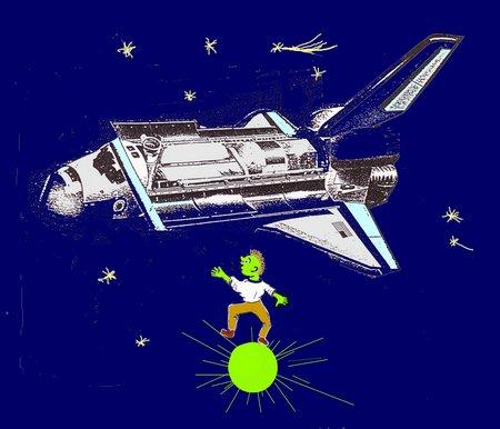 Sternenkind Raumschiff
